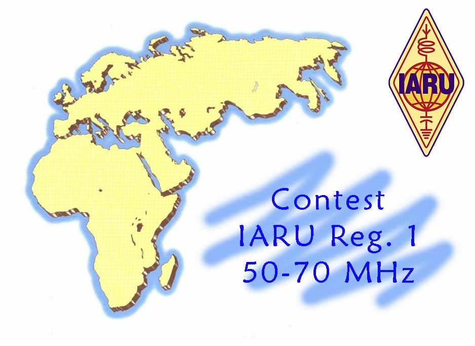 Provisional results IARU R1 50–70 MHz Contest