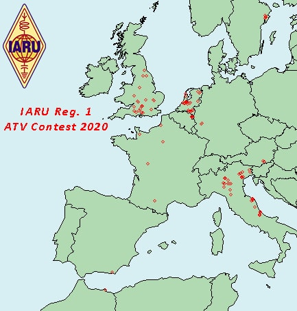 IARU Region 1 ATV Contest 2020 Results
