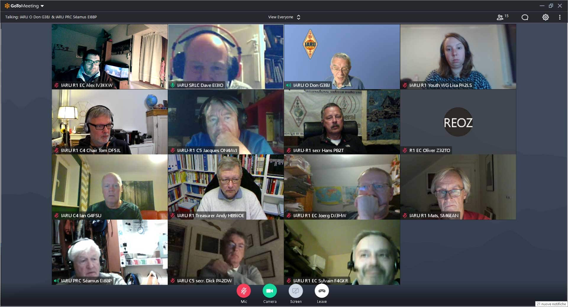 IARU Virtual General Conference — 3rd Day