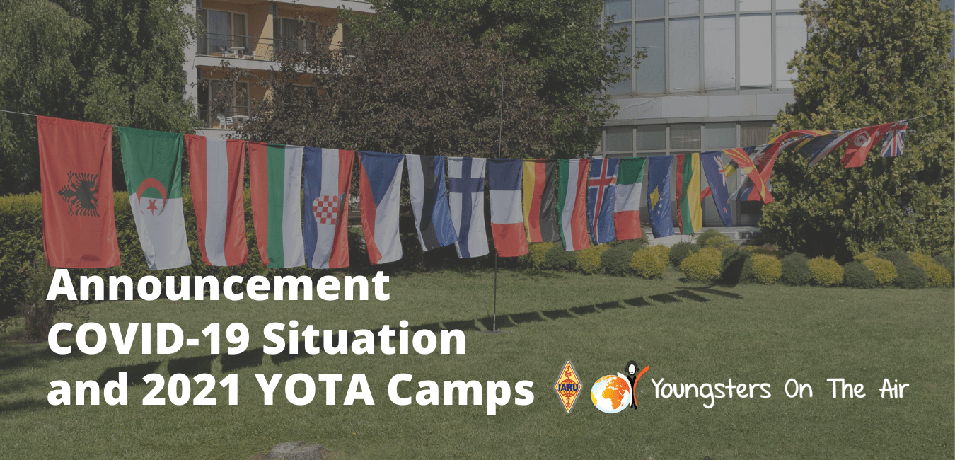 COVID-19 situation and YOTA Camps