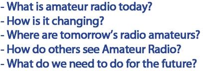 Facing the future of amateur radio