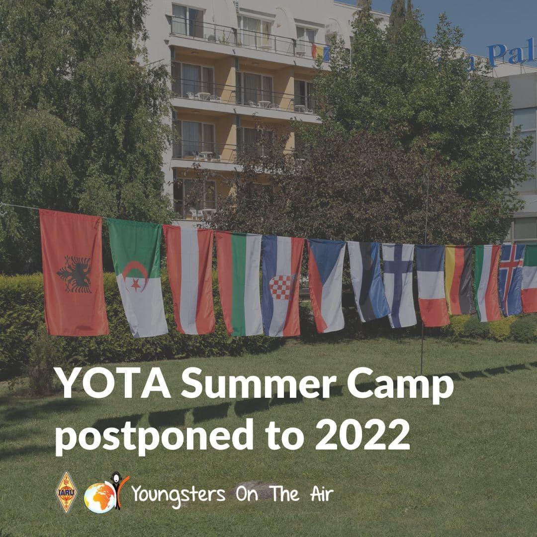 YOTA Summer Camp Croatia—Postponed to2022
