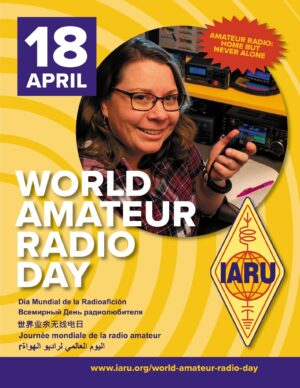 April 18—World Amateur RadioDay