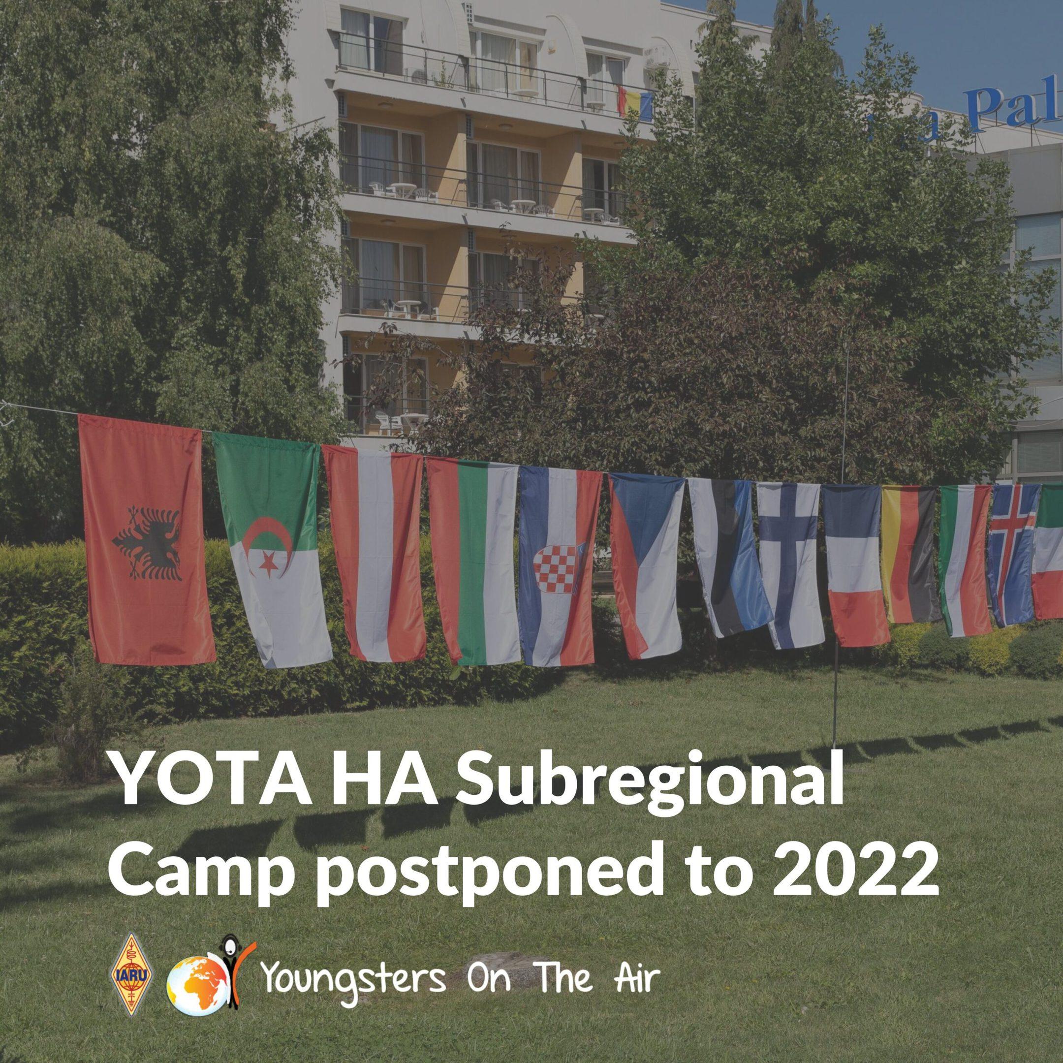 YOTA Subregional Camp Hungary—Postponed to2022