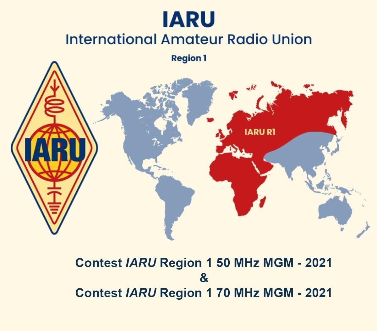Contest IARU R1 50⁄70 MHz MGM—Results