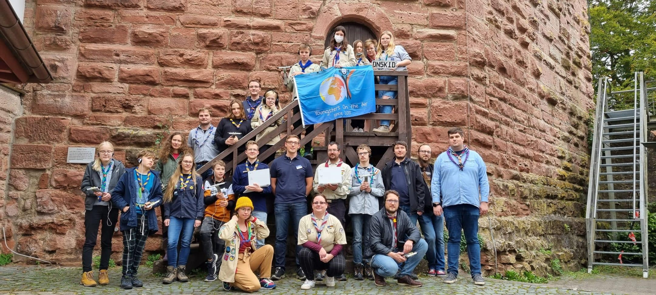 IARU R1 Youth Working Group connecting with Scouts in Europe